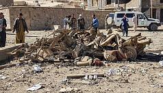 12 killed by car bomb targeting Afghan police
