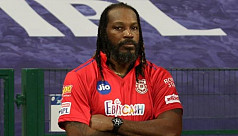 Gayle recovers from stomach bug in...