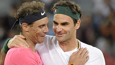 Federer lauds Nadal for matching his record