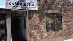 Kashmir newspaper's office sealed by...