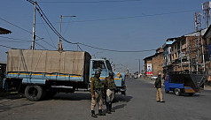 Indian Kashmir shuts down over land...
