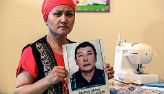 Kazakhs despair for relatives missing...