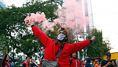 Indonesian unions vow mass protests...