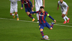 Sweet 16 for Messi as Barcelona thump Ferencvaros