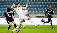 Lewa, Muller braces propel Bayern