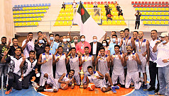 Navy win Bangabandhu Fed Cup Basketball