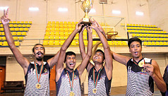 Navy, Air Force and Flame Boys 'B' victorious