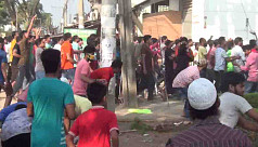 Gazipur workers block road, vandalize factory