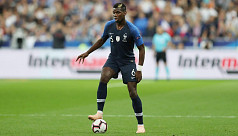 Pogba denies quitting France team