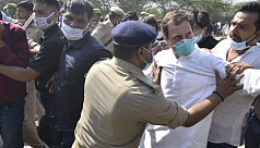 Rahul, Priyanka Gandhi arrested while on way to meet gang rape victim's family