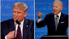 Biden, Trump duel for Florida as White House touts GDP figures