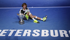 Rublev wins St Petersburg Open