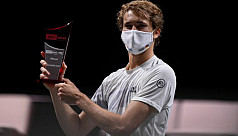 Zverev completes Cologne double
