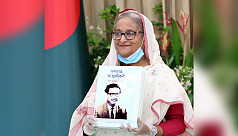 PM unveils braille version of Bangabandhu's memoir