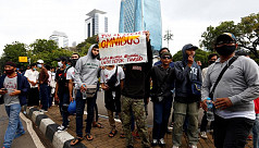 Thousands join protest against Indonesia...
