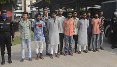 11 members of a juvenile gang held in Narayanganj
