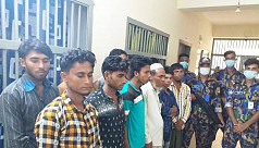 16 arrested for clash in Kutupalong...