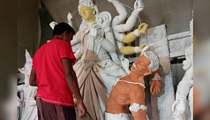 Durga Puja: Preparations in full swing...