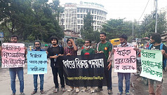 Group of students walk 100km to protest rape