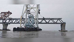 5km of Padma Bridge visible after installation of 33rd span