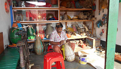 Traditional instrument artisans in Nilphamari passing days in despair