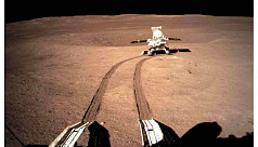 China's lunar rover travels 565.9 metre on moon