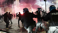 Italy protesters, police clash over Covid-19 curbs as countries battle case surges