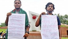 Student protester duo complete march...