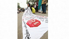 In pictures: Protest against rape
