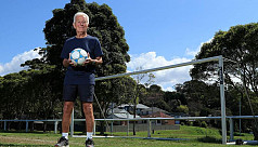 Peter Webster: The 80-year-old footballer...