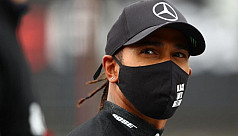 Hamilton warns he will keep racing until he turns grey