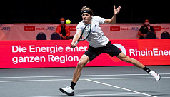 Felix, Zverev into Cologne final