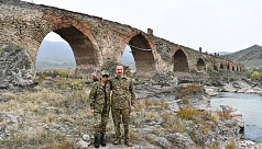 Azerbaijan presidential couple tour...