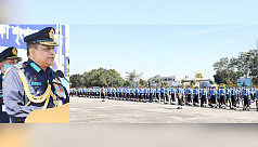 64 female recruits participate in BAF's passing out parade for graduates