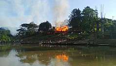 20 shops gutted in Bandarban fire