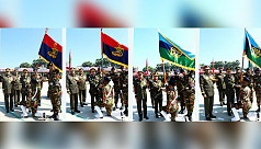 Bangladesh Army awards regimental colours...