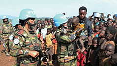 ED: Let's hear it for our peacekeepers