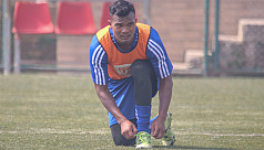 Nepal striker finds Dhaka extremely hot