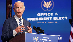 Biden denounces 'irresponsible' Trump...