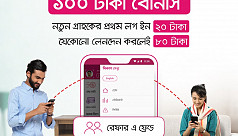 bKash giving Tk 100 for app referral