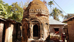 5-century-old temple in ruins