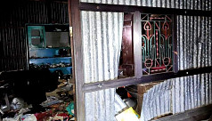 Hindu house vandalized, looted in...