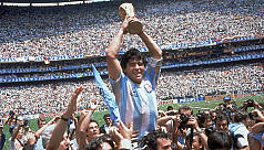Infographic: Argentine football great Diego Maradona dies at 60