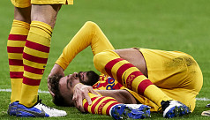 Blow for Barca as Pique knee injury confirmed