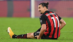Ibrahimovic out of action for two weeks