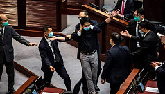 Hong Kong ex-lawmakers arrested for...