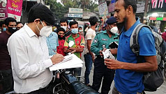 43 held for not wearing mask in Khulna,...