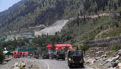 Indian, Chinese troops in new border...
