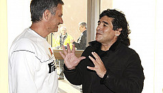 Mourinho: Maradona was there for me in tough times