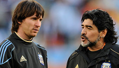 Diego is eternal, Messi says of Maradona